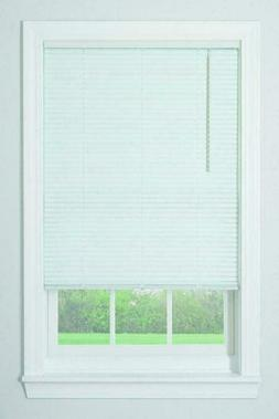 "Bali Blinds 1"" Cordless Vinyl Blind in White, 31x64 31x64"""