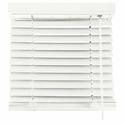 2-Inch Cordless Faux Wood Blinds kitchen bathroom garage and