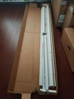 """BALI CORDLESS BLINDS, NEW IN BOX. 1"""" ALUMINUM BLINDS, PEARL"""