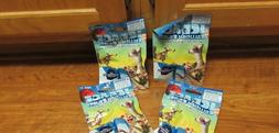 4 Blind Bags Ice Age Collision Course Collectible Figures Ne