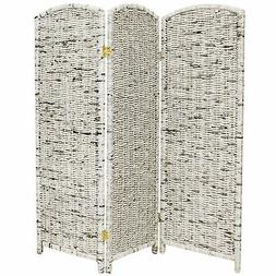 Oriental Furniture 4 ft. Tall Recycled Newspaper Room Divide