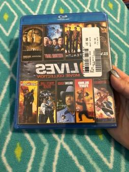 9 Lives Movie Collection  Blind Fury, Silent Rage, White Lin
