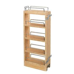 Rev-A-Shelf - 448-WC-8C - 8 in. Pull-Out Wood Wall Cabinet O