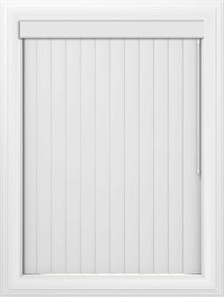 Bravada Select, Superior 3 1/2 inch Vertical Blinds Color: W