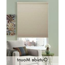 Cordless Cellular Shades Blackout Pleated Fabric Honeycomb W