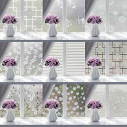 Decorative Privacy Window Films Stickers for Glass, Self-Adh