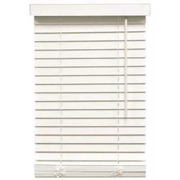 Designer's Touch 2464680 2-Inch Faux Wood Blind Crown Valanc