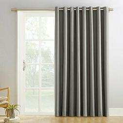 Door Curtain Panel Sliding Glass Patio Blinds Blackout With