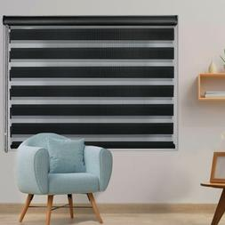 LUCKUP Horizontal Window Shade Blinds with Valance Cover Zeb