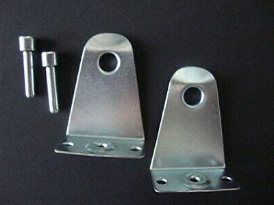 2 horizontal blind hold down with pins