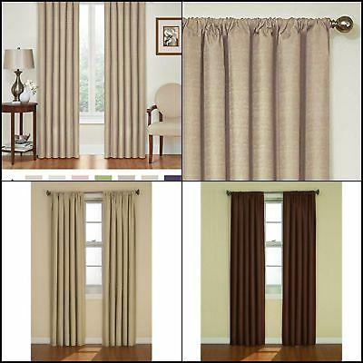 blackout curtains blinds eclipse thermal curtain single