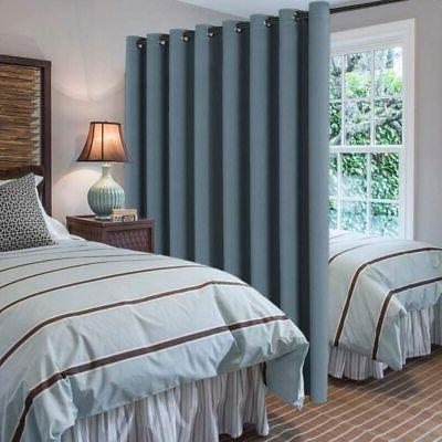 Blue Insulated Room Divider