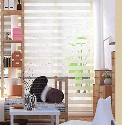 LUCKUP Blind Zebra Blinds Day and Night