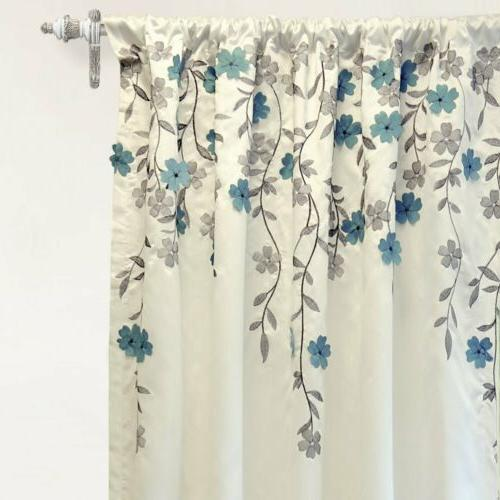 DriftAway Isabella Faux Embroidered Embroidered Flower