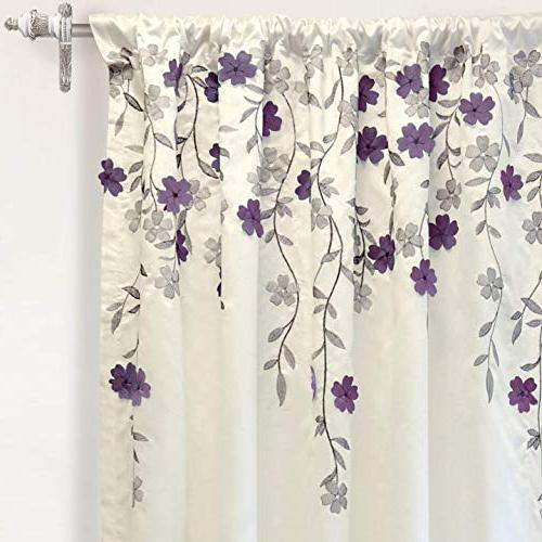 DriftAway Isabella Embroidered Crafted Thermal Panel, One Panel,