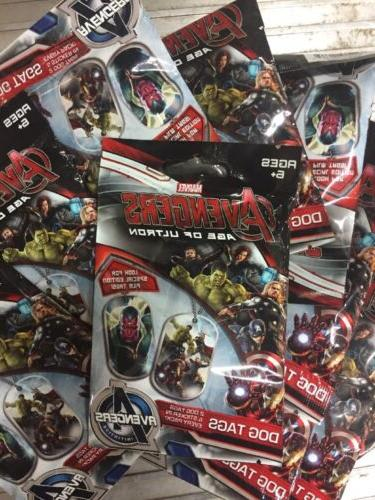 marvels avengers age of ultron dog tags
