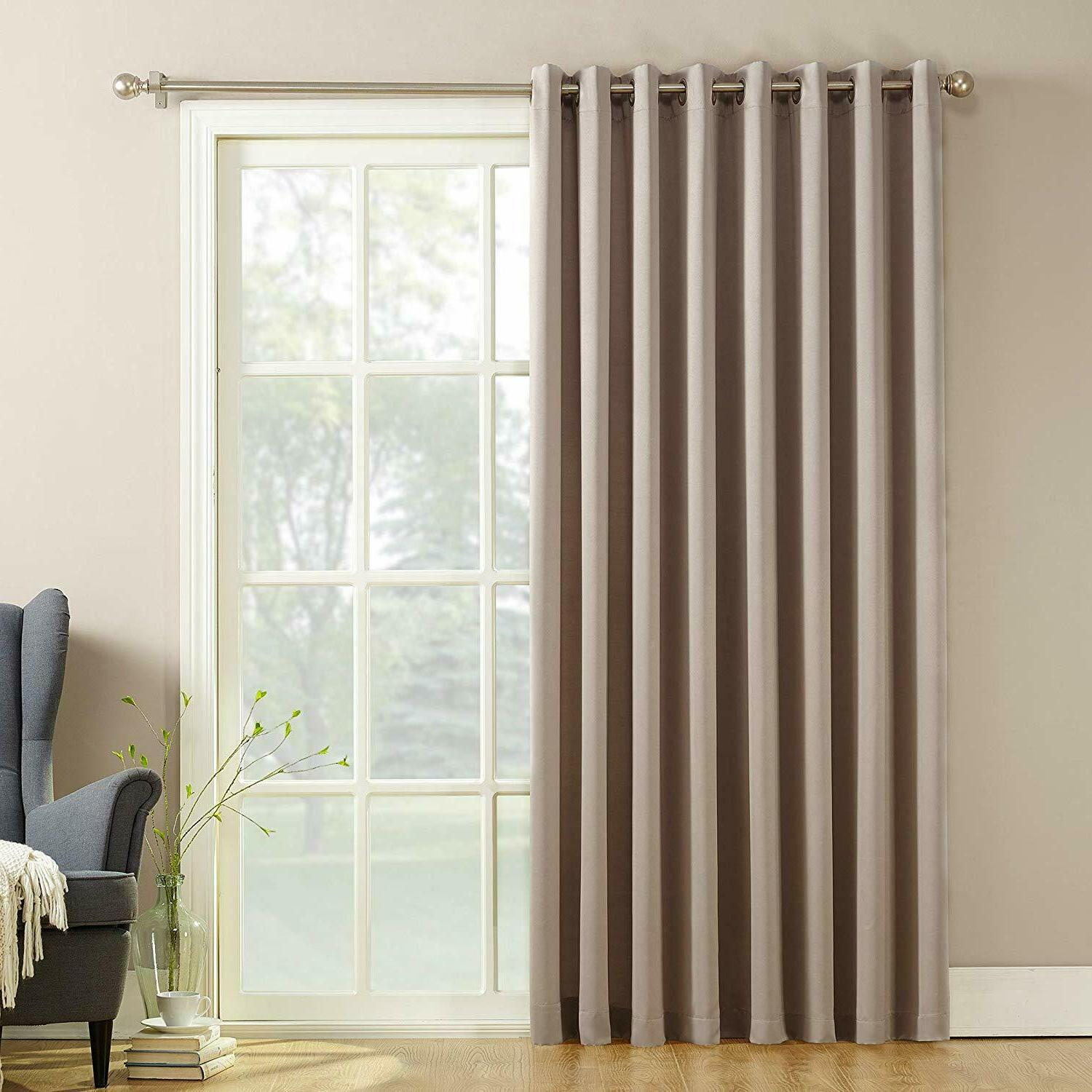 Patio Door Blinds Outdoor Sliding Curtain Extra Wide Glass W