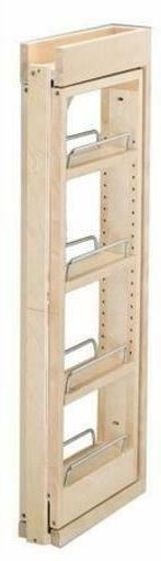 Rev-A-Shelf 3 in. W x 30 in. H Wall Filler Pull Out Wood Kit