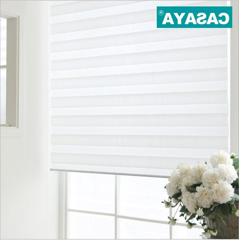 Shell Zebra Double light Window Roller <font><b>Blinds</b></font> Living Bedroom