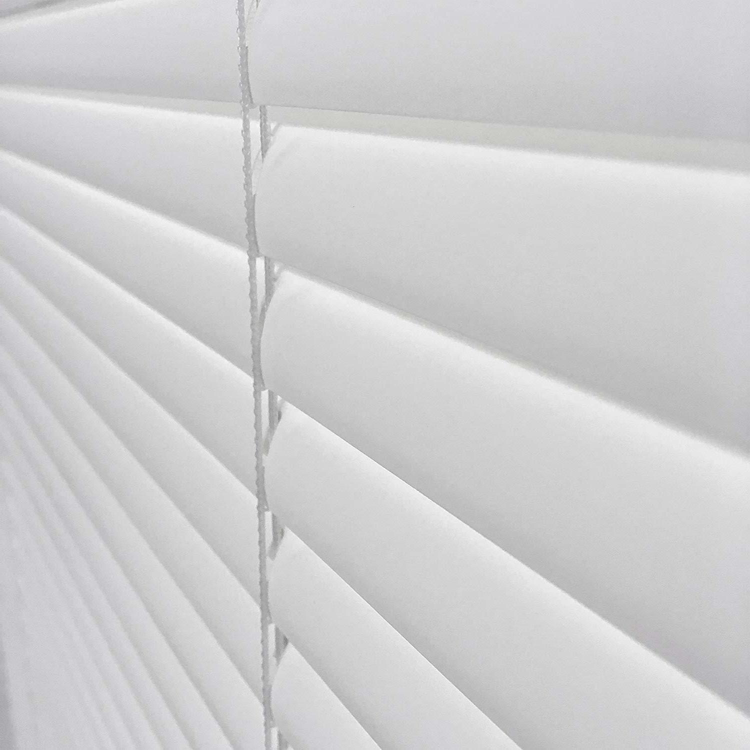 "Window Blinds 1"" Corded Vinyl 64"" Alabaster"
