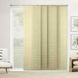Chicology Panel Track Blinds Florence Maize Cordless Light F