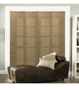 Chicology Adjustable Sliding Panel, Cordless Shade, Double R