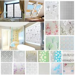 PVC Static Cling Cover Frosted Window Glass Film Sticker Pri