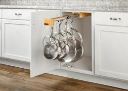 REV-A-SHELF GLD-W22-SC-7 Pull Out Under Cabinet Hanging Pot