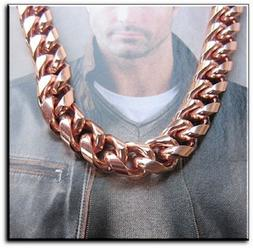 Solid Copper Chain CN624G - 5/16 of an inch wide. Available