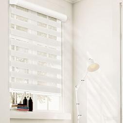 Chicology Free-Stop Cordless Zebra Roller Shades / Combi Bli