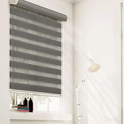 Chicology ZSWG3472 Free-Stop Cordless Zebra Shade, Striped G